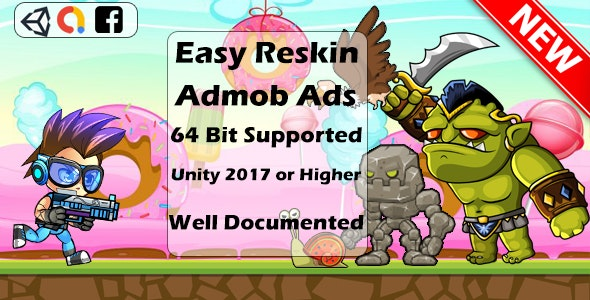 Super Jungle Adventure - Full Unity Game ADMOB ADS - CodeCanyon Item for Sale