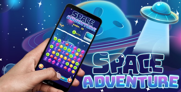 Space Match3 - CodeCanyon Item for Sale