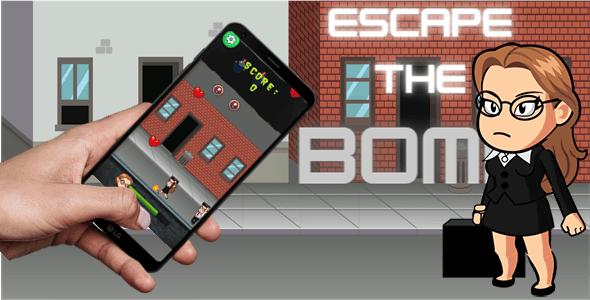 Escape The Bomb - CodeCanyon Item for Sale