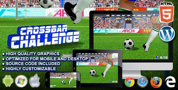 Crossbar Challenge - HTML5 Sport Game