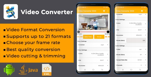 Video Converter App (Best Quality) - CodeCanyon Item for Sale