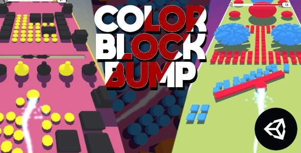 Color Block Bump | Unity Casual Project With Admob Ad For Android and iOS - CodeCanyon Item for Sale