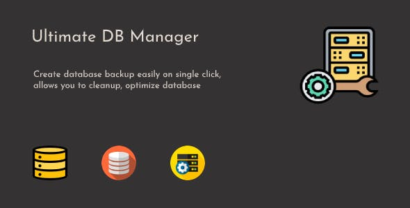 Ultimate DB Manager - WordPress Database Backup, Cleanup & Optimize