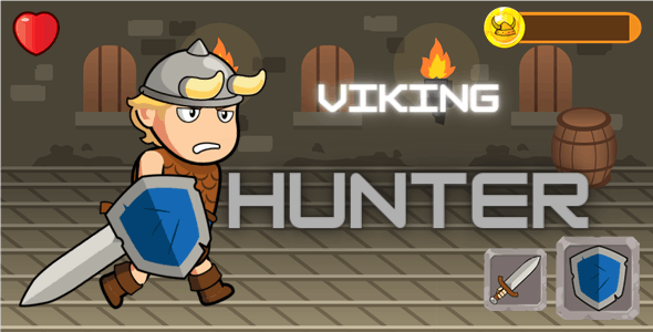 Viking Hunter - HTML5 and CONSTRUCT - CodeCanyon Item for Sale