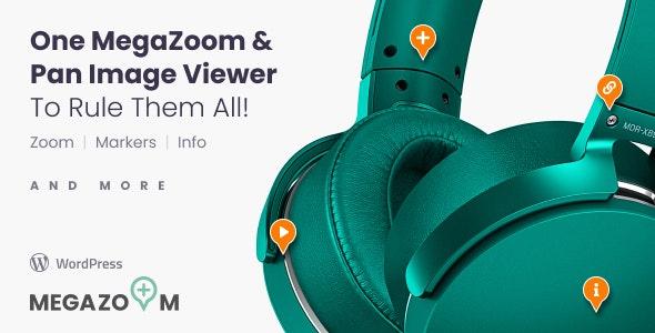 Mega Zoom & Pan Image Viewer Wordpress Plugin - CodeCanyon Item for Sale