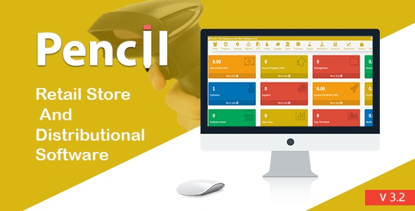 Pencil - The Retail Store and Distribution Software - CodeCanyon Item for Sale