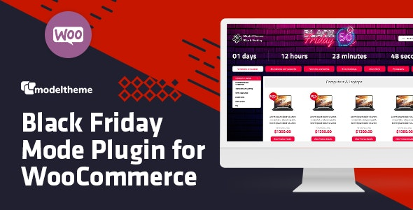 Black Friday / Cyber Monday Mode for WooCommerce - CodeCanyon Item for Sale