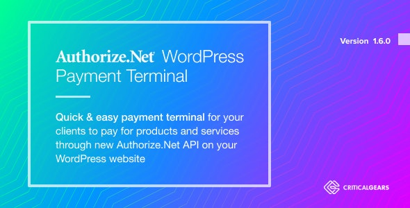 Authorize.Net Payment Terminal WordPress - CodeCanyon Item for Sale