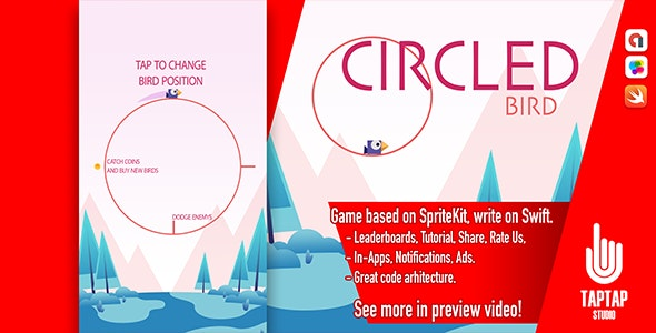 Circled Bird - CodeCanyon Item for Sale