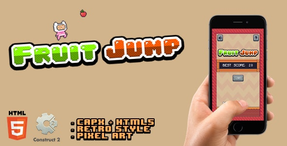 Fruit Jump - Html5 Game - CodeCanyon Item for Sale