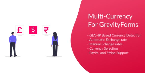 Multi-Currency for Gravity Forms