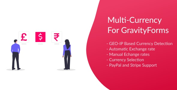 Multi-Currency for Gravity Forms - CodeCanyon Item for Sale