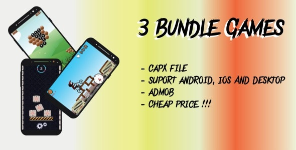 3 Bundles Game HTML5 Support Android & IOS - CodeCanyon Item for Sale