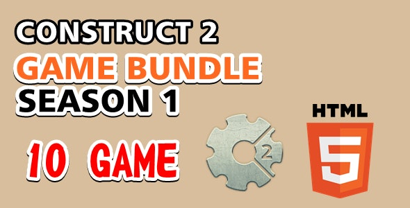 Game Bundle 1 - Construct 2 Game - CodeCanyon Item for Sale