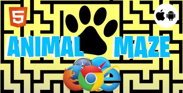 Animal Maze - HTML5 Games - CodeCanyon Item for Sale