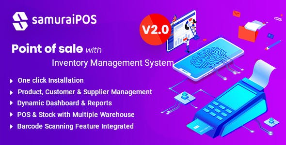 Samurai POS - Point of Sale & Inventory Management System