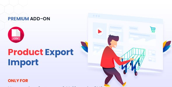 Manyvendor Product Export Import Addon
