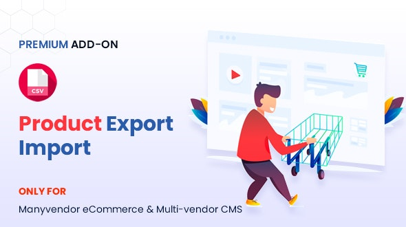 Manyvendor Product Export Import Addon - CodeCanyon Item for Sale