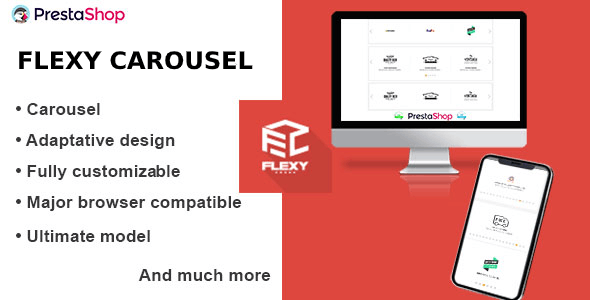 Flexy carousel for each product