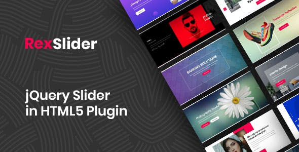 Rex-Slider jQuery Slider in HTML5 Plugin