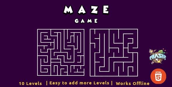 HTML5 Maze Game - Phaser Game