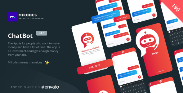 ChatBot - Simple & Minimal Bot - CodeCanyon Item for Sale