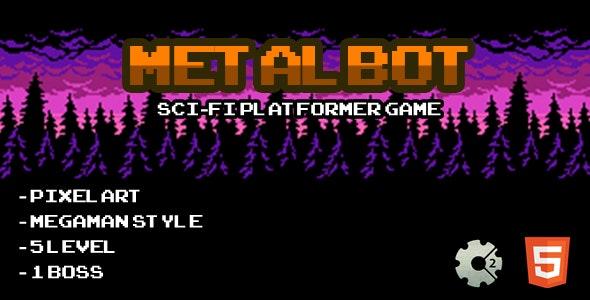 Metalbot - Html5 Game - CodeCanyon Item for Sale