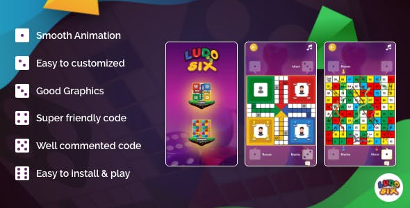 LODU SIX - A multiplayer board game developed in Android
