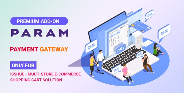 Param Payment Gateway for Isshue eCommerce Shopping Cart Solution - CodeCanyon Item for Sale