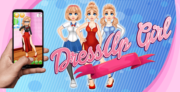 DressUp Girl - COMPLETE GAME HTML5/CONSTRUCT - CodeCanyon Item for Sale