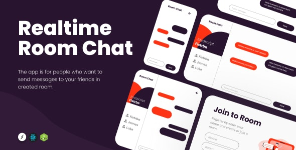 Realtime Room Chat - CodeCanyon Item for Sale