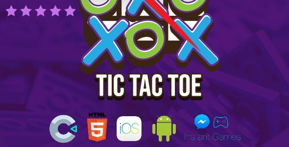 Tic Tac Toe Online - Construct 3 Template | No coding knowledge required - CodeCanyon Item for Sale