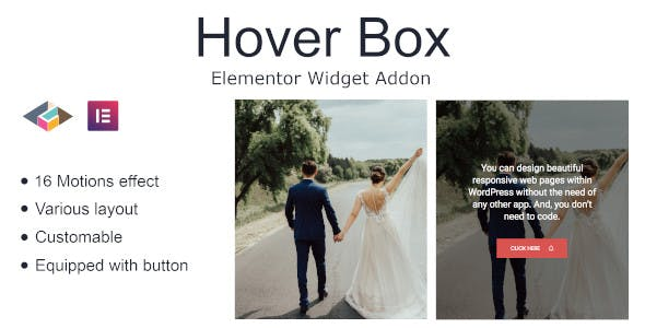 Hover Box Elementor Page Builder Addon