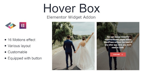 Hover Box Elementor Page Builder Addon - CodeCanyon Item for Sale