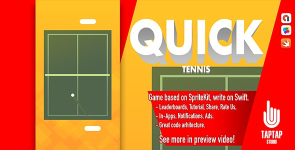Quick Tennis - CodeCanyon Item for Sale