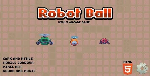 Robot Ball - Html5 Game