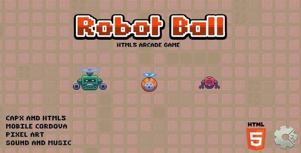 Robot Ball - Html5 Game