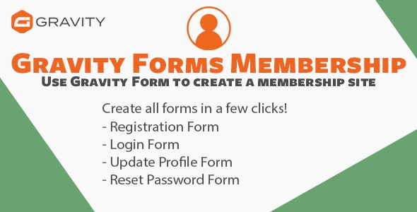 Gravity Forms Membership - CodeCanyon Item for Sale