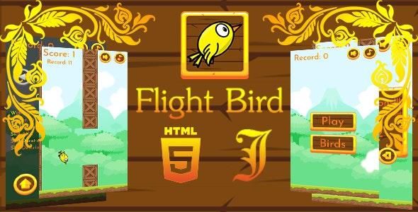 Flight Bird - Html5 Game - CodeCanyon Item for Sale