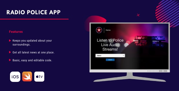 Radio Scanner App for Apple TV - CodeCanyon Item for Sale