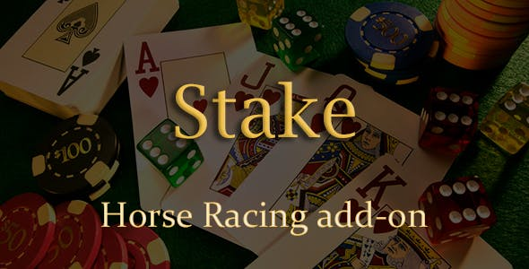 Horse Racing Add-on for Stake Casino Gaming Platform