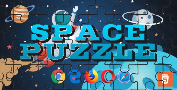 SpacePuzzle - HTML Game - CodeCanyon Item for Sale