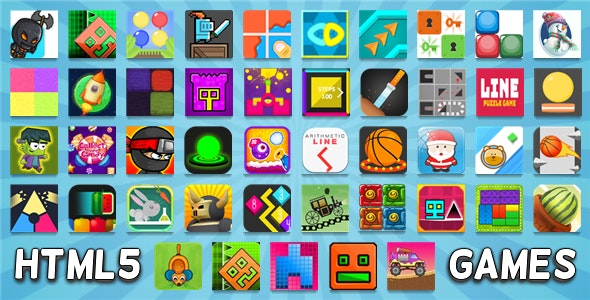 45 HTML5 GAMES IN 1 BUNDLE (CONSTRUCT 3 / CONSTRUCT 2 / CAPX / C3P) NEW! - CodeCanyon Item for Sale