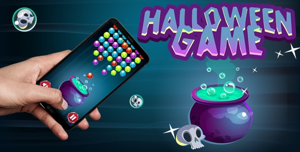 Halloween Bubble Shooter - CodeCanyon Item for Sale