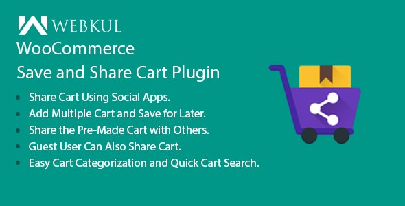 WooCommerce Save and Share Cart Plugin - CodeCanyon Item for Sale