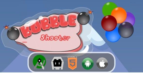Bubble Game Mobile HTML5 Capx File