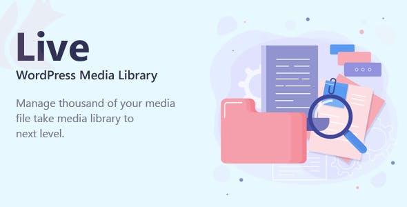 Live - WordPress Media Library Folders