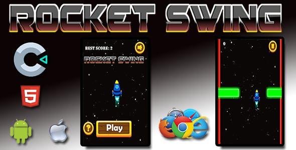 Rocket Swing - HTML5 Mobile Game