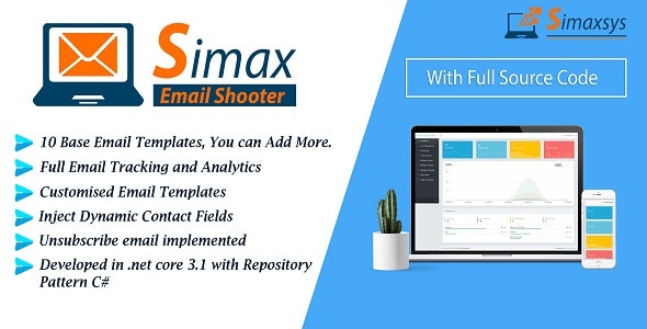 Email Shooter - Email Marketing Application in Dot Net Core - CodeCanyon Item for Sale