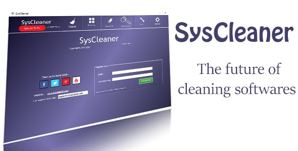 SysCleaner - Full Application Source Code